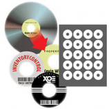 PhotoMatte CD/DVD Core Labels - 100 Pack