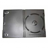 Single DVD Case Black - 25 Pack